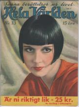1933 Hela Varlden Louise Brooks Cover