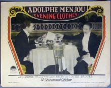 1927 Evening Clothes Lobby Card - 01