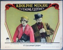 1927 Evening Clothes Lobby Card - 02