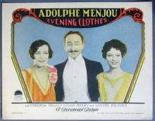 1927 Evening Clothes Lobby Card - 03
