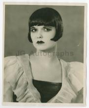 1925 Louise Brooks Publicity Still Ziegfeld Follies, Louie 14th