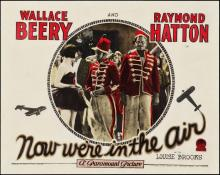 1927 Now We're in the Air Lobby Card