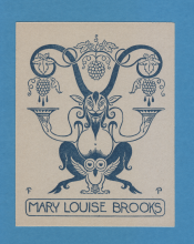 Louise Brooks Personal Bookplate