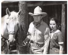 1936 Empty Saddles Publicity Still - BJ 9 36 60
