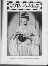1929 Blanco y Negro Louise Brooks Inside Cover