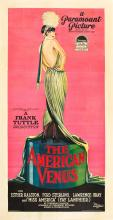 1926 The American Venus Louise Brooks Three Sheet Poster