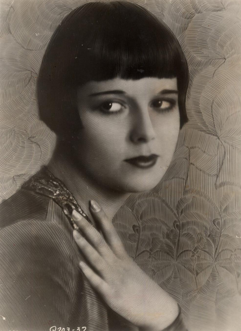 Louise Brooks by M.I. Boris