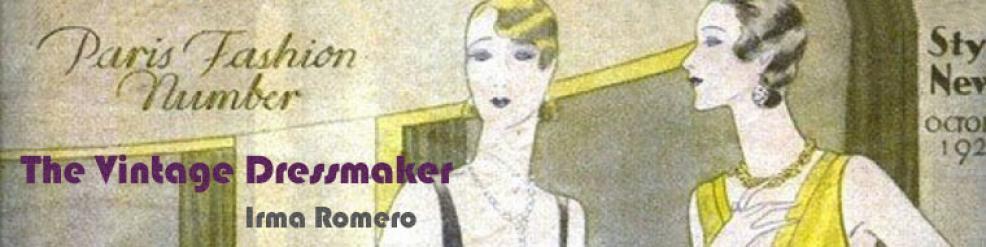 The Vintage Dressmaker - Irma Romero
