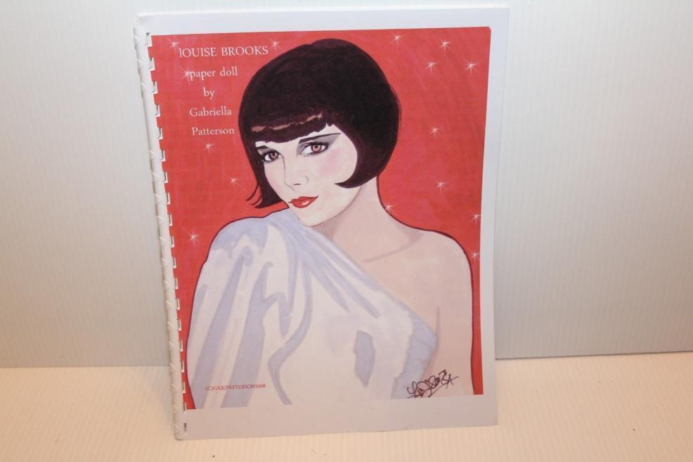 2008 Louise Brooks Paper Doll by Gabriella Patterson