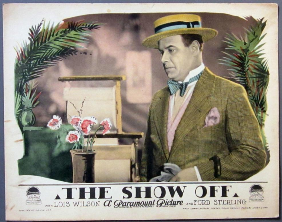 1926 The Show-Off Lobby Card - 01