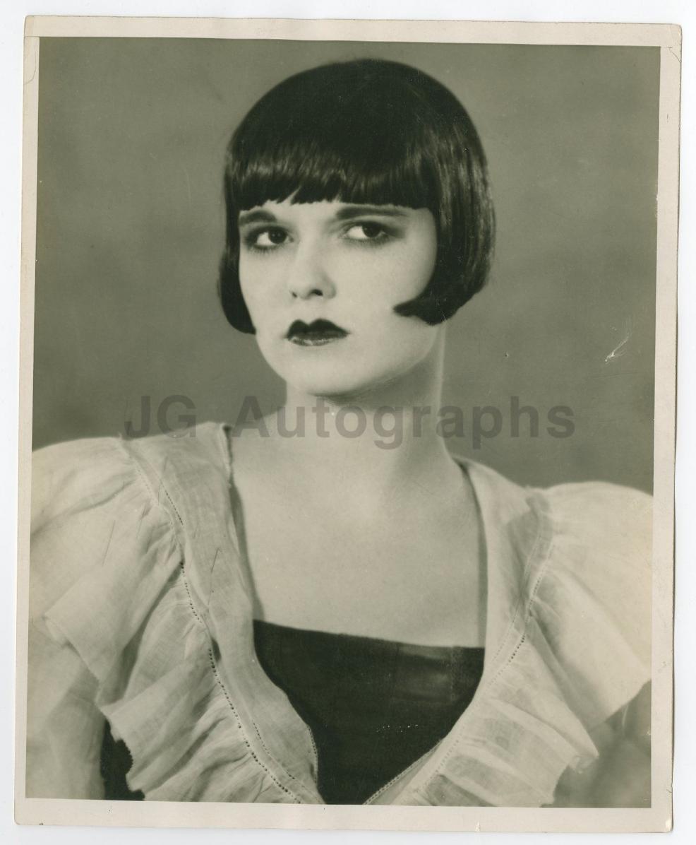 1925 Louise Brooks Publicity Still Ziegfeld Follies, Louie 14th