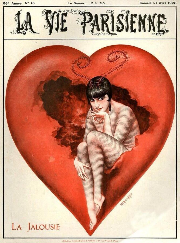 1928 La Vie Parisienne - La Jalousie