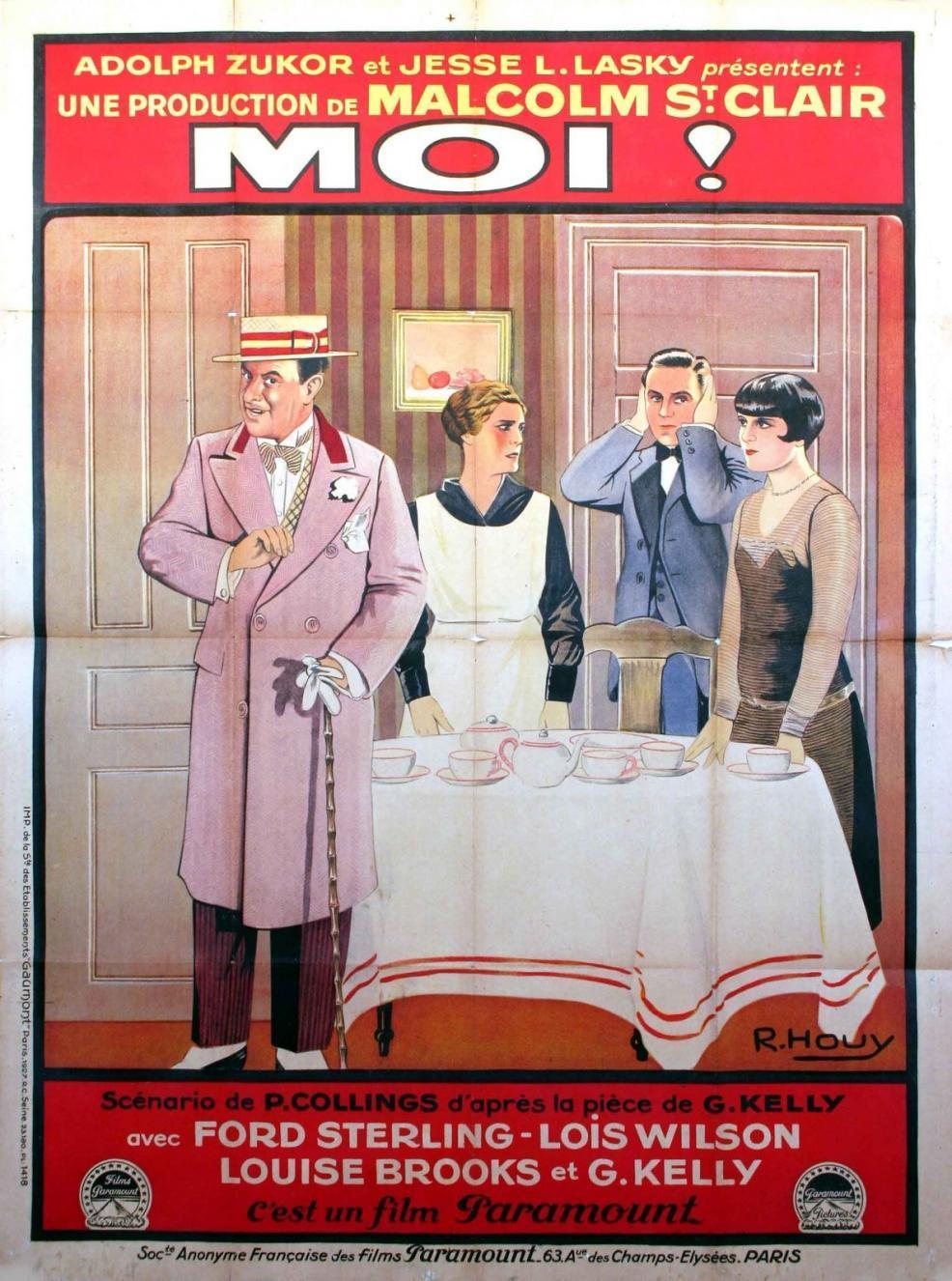 1926 The Show-Off French Poster