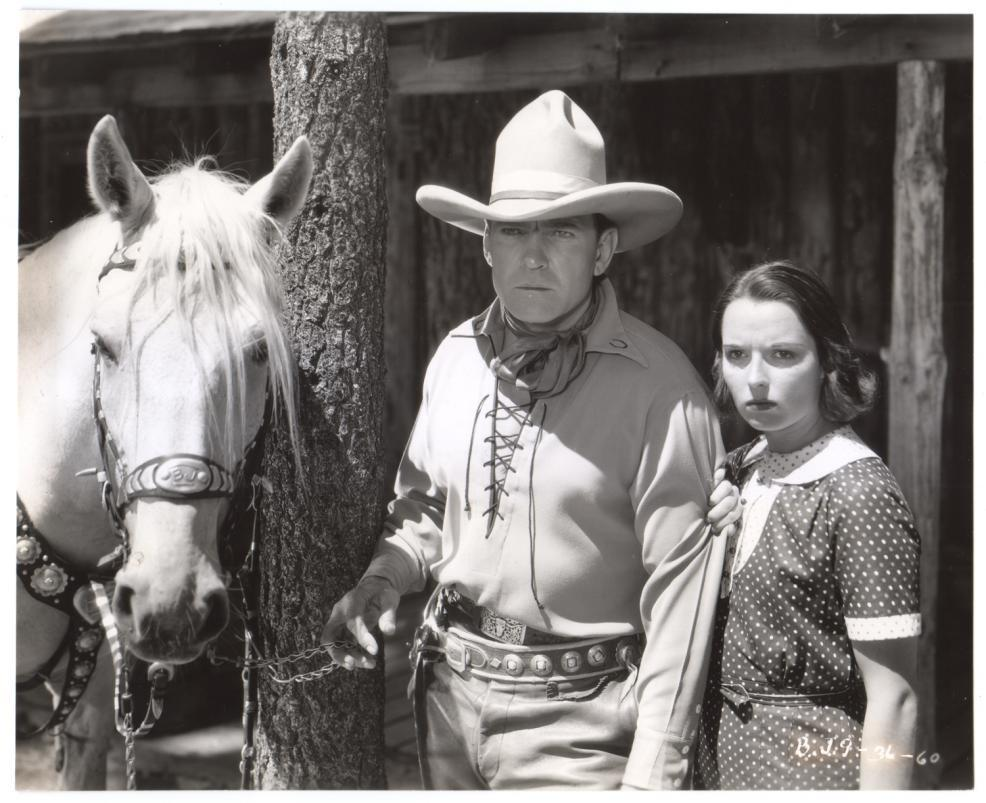 1936 Empty Saddles Publicity Still - BJ 9 36 60