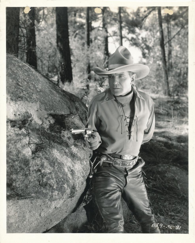 1936 Empty Saddles Publicity Still - BJ 9 36 31