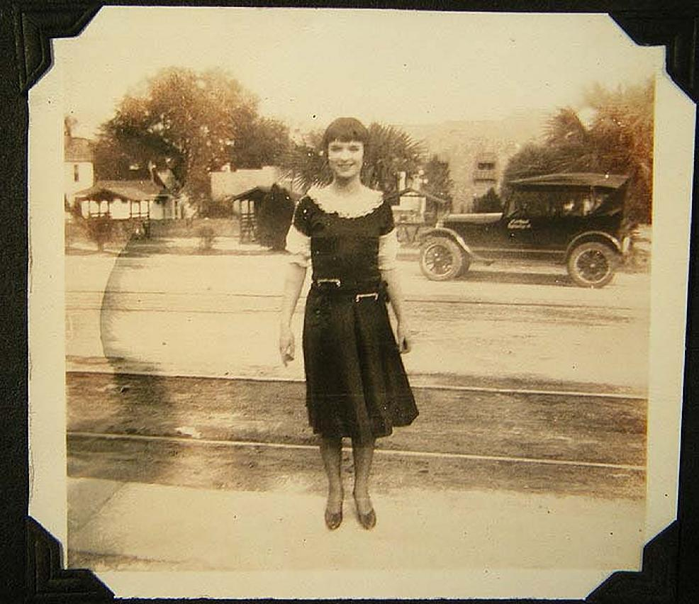 1926 Louise Brooks Candid Photos on Location in Florida