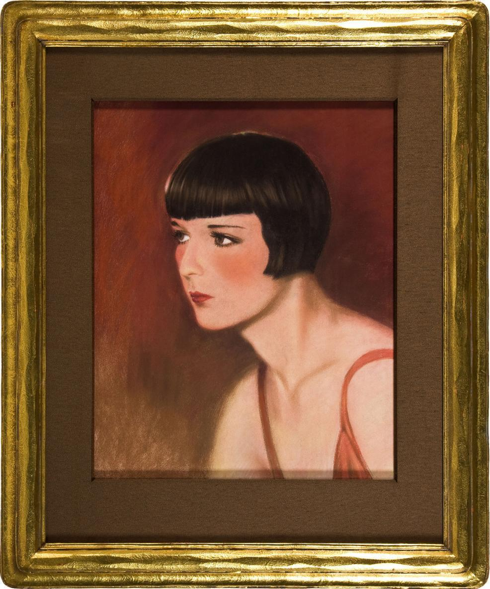 1929 Louise Brooks Cover Painting from VU Magazine