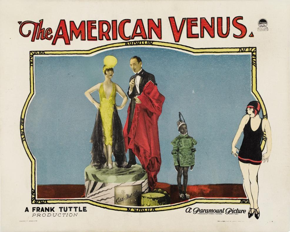 1926 The American Venus Louise Brooks Lobby Card