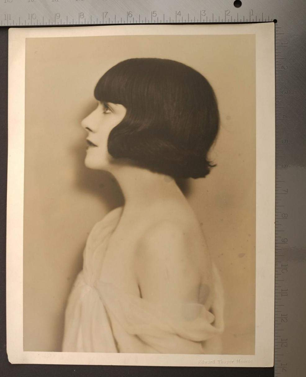 1923 Anastasia Reilly Publicity Still Portrait by Edward Thayer Monroe