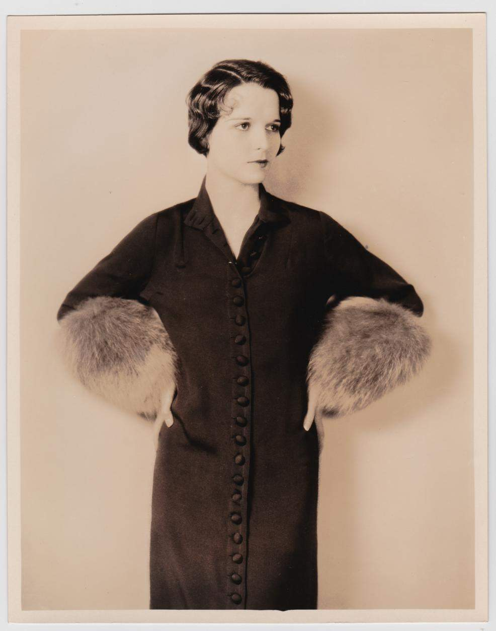 1927 Louise Brooks by Eugene Robert Richee Fashion Publicity Still