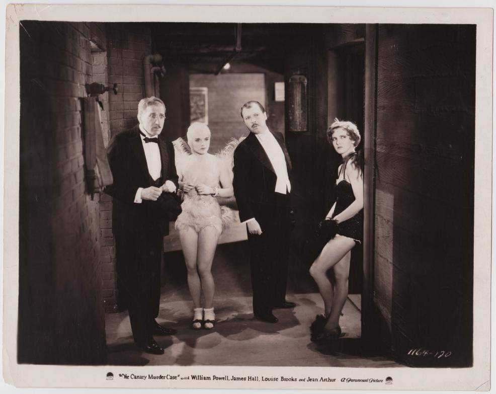 1928 The Canary Murder Case Publicity Still 1164-120