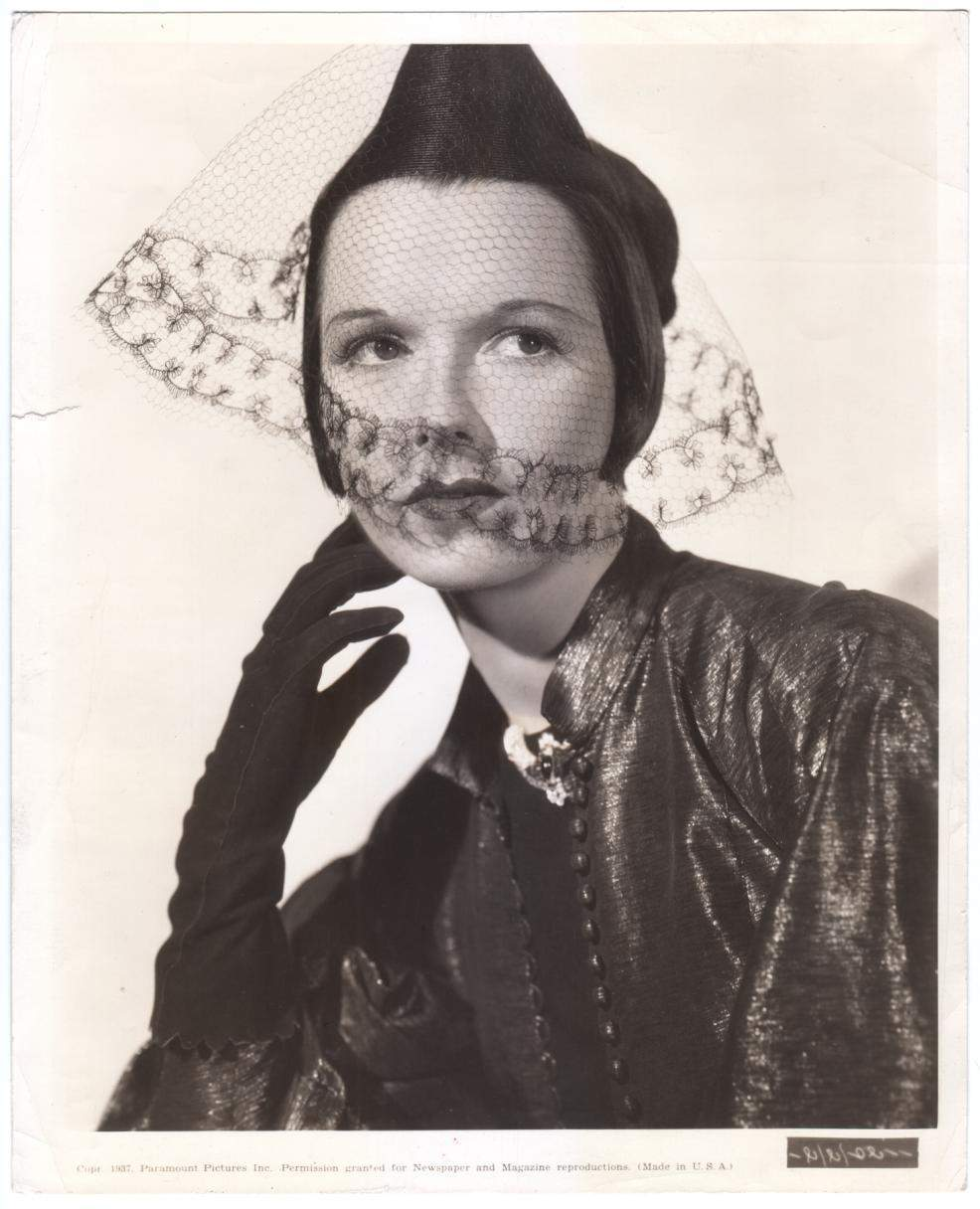 1937 Louise Brooks King of Gamblers Publicity Still